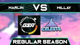 AG Marlin vs Millay   Regular Season   GSA Celeste Any% Speedrun League Season 3