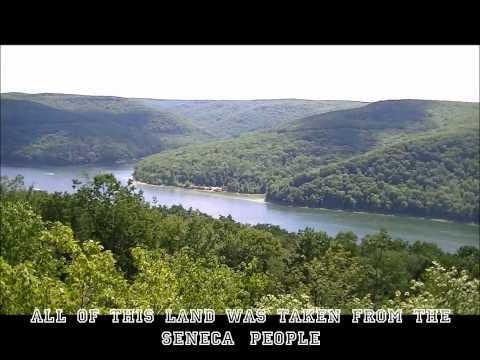 Kinzua Dam and Allegheny Resevoir