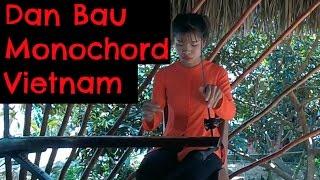 Dan Bau (Monochord)- Mekong River - Vietnam