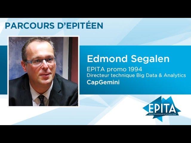 Parcours d'Epitéens - Edmond Segalen (promo 1994) - CapGemini