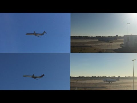 Memphis Airport Spotting Ep. 6: American MD80!