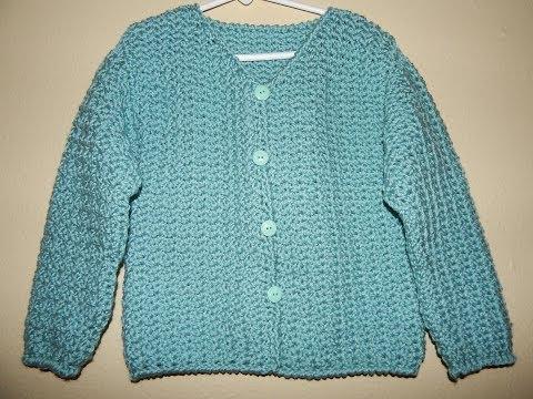 Sueter Para Ni 241 A Crochet Parte 2 De 2 Youtube