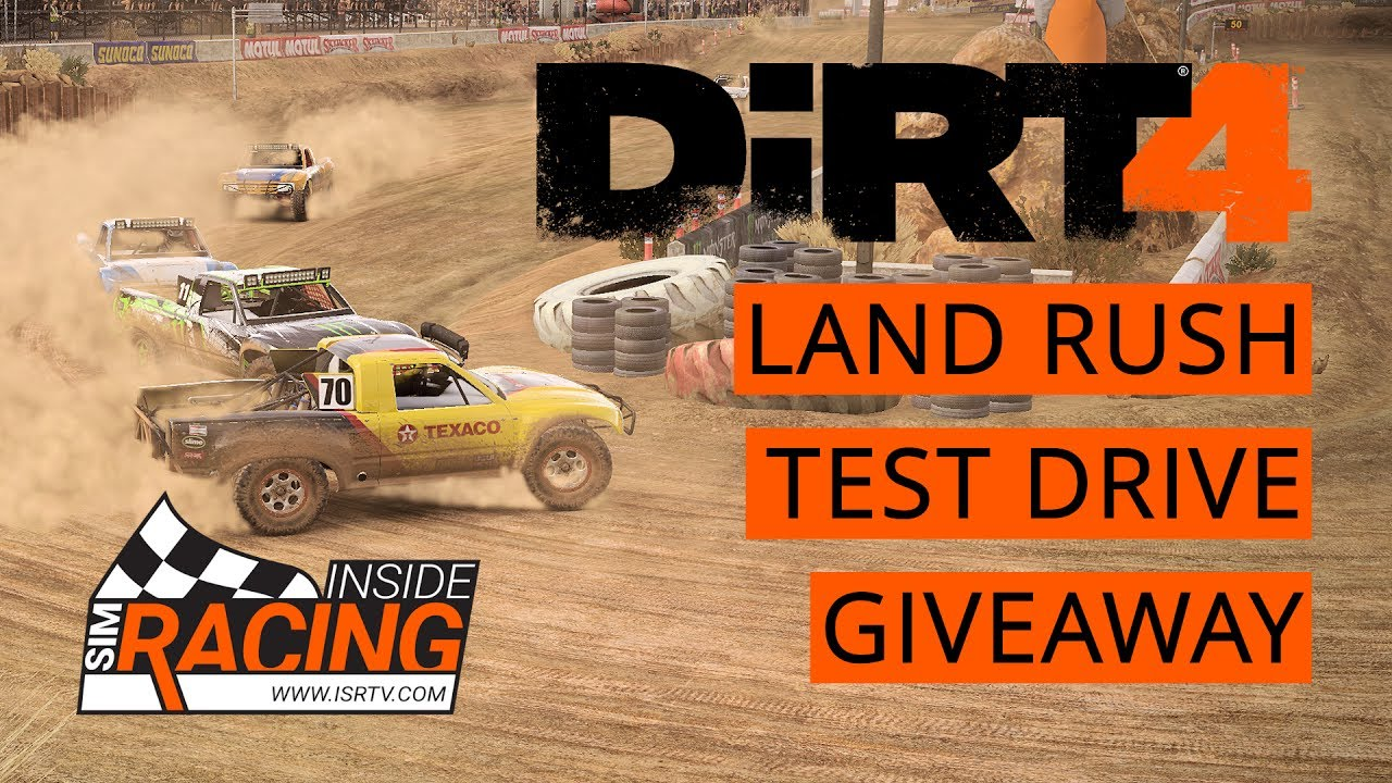 dirt 4 pc test drive giveaway all 3 landrush locations youtube. Black Bedroom Furniture Sets. Home Design Ideas