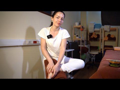 Самомассаж ног в домашних условиях видео