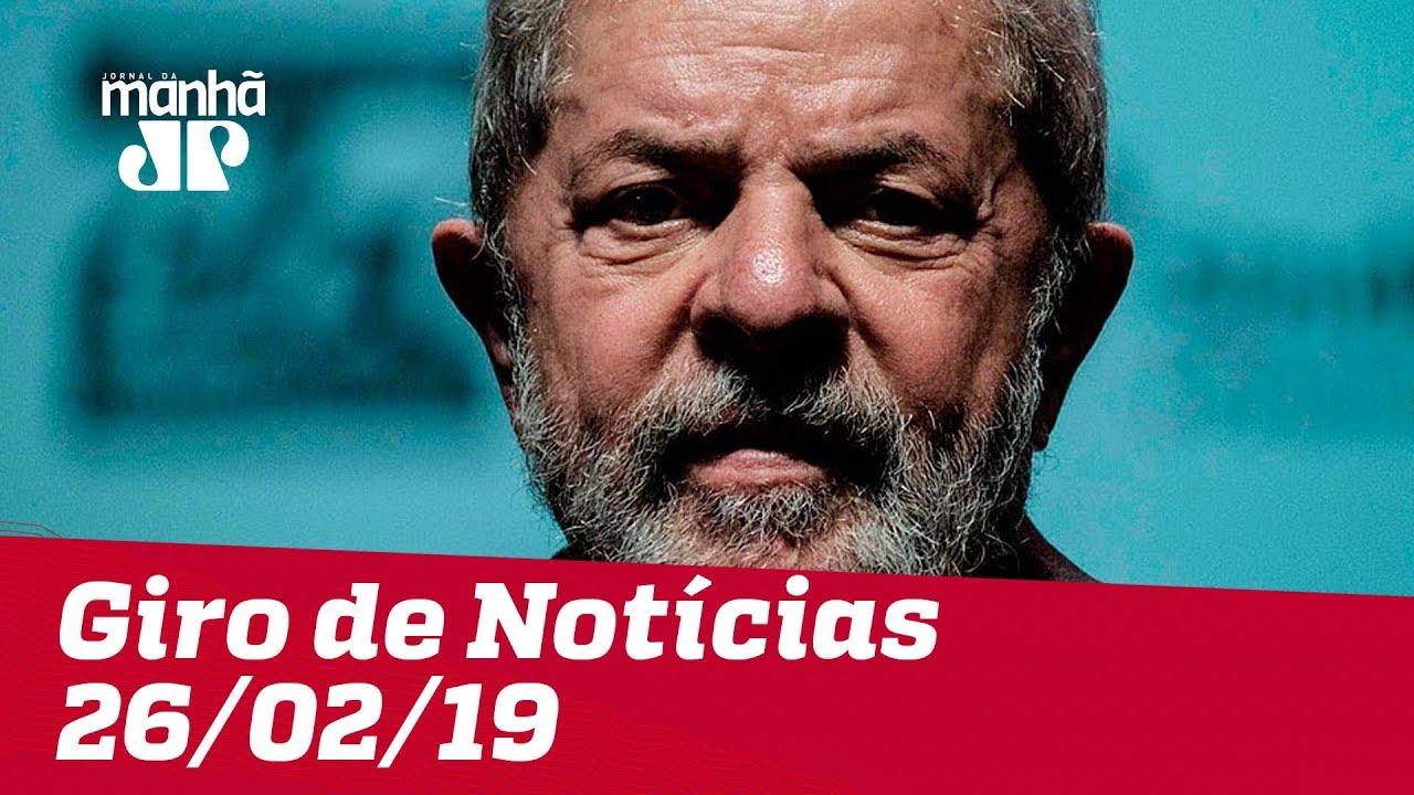 Giro de Notícias - 26/02/2019 - Primeira Edição
