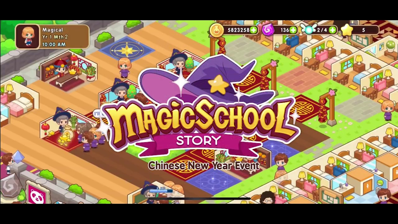 Magic School Story Chinese New Year Event Exclusive Items