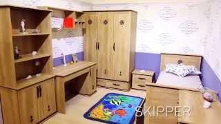 Мебель для детской комнаты мальчика Skipper / Шкипер (Аква Родос). Магазин BABY ROOM в Одессе.(Магазин BABY ROOM предлагает продукцию мебельной фабрики Аквародос. Вся мебель в наличии! Skipper / Шкипер – это..., 2015-08-20T13:02:30.000Z)