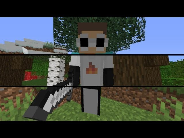 Minecraft But Three People Control One Player Youtube