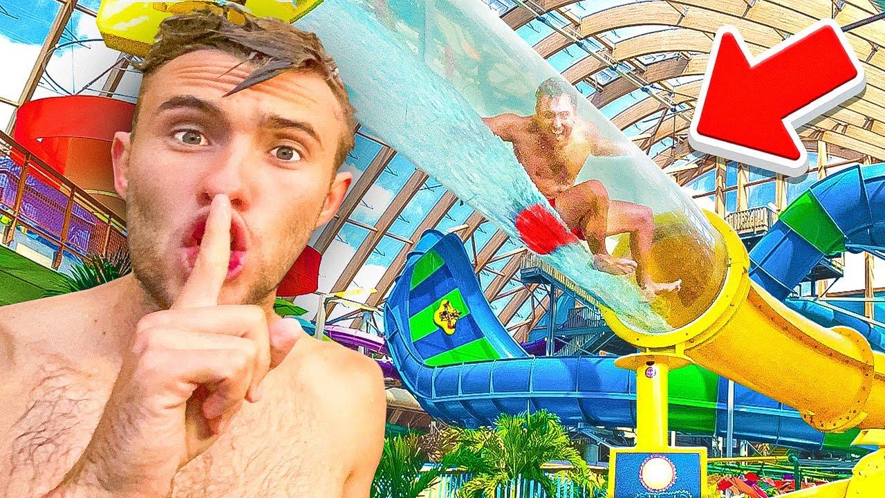 Hide N Seek At Worlds Largest Indoor Waterpark!