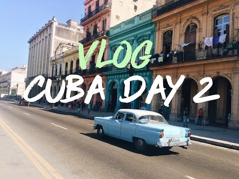 CUBA VLOG DAY 2: Exploring Havana, City Tour & Cuban Breakfast