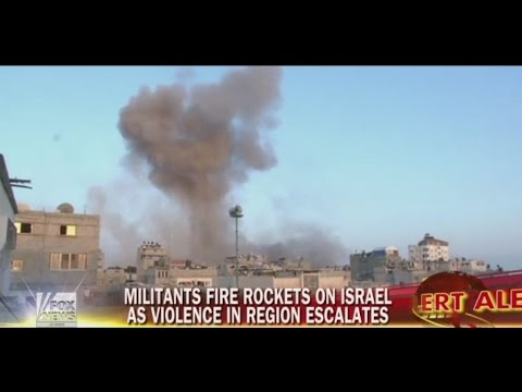 Lebanese rockets hit Israel as Palestinian deaths in conflict exceed 100