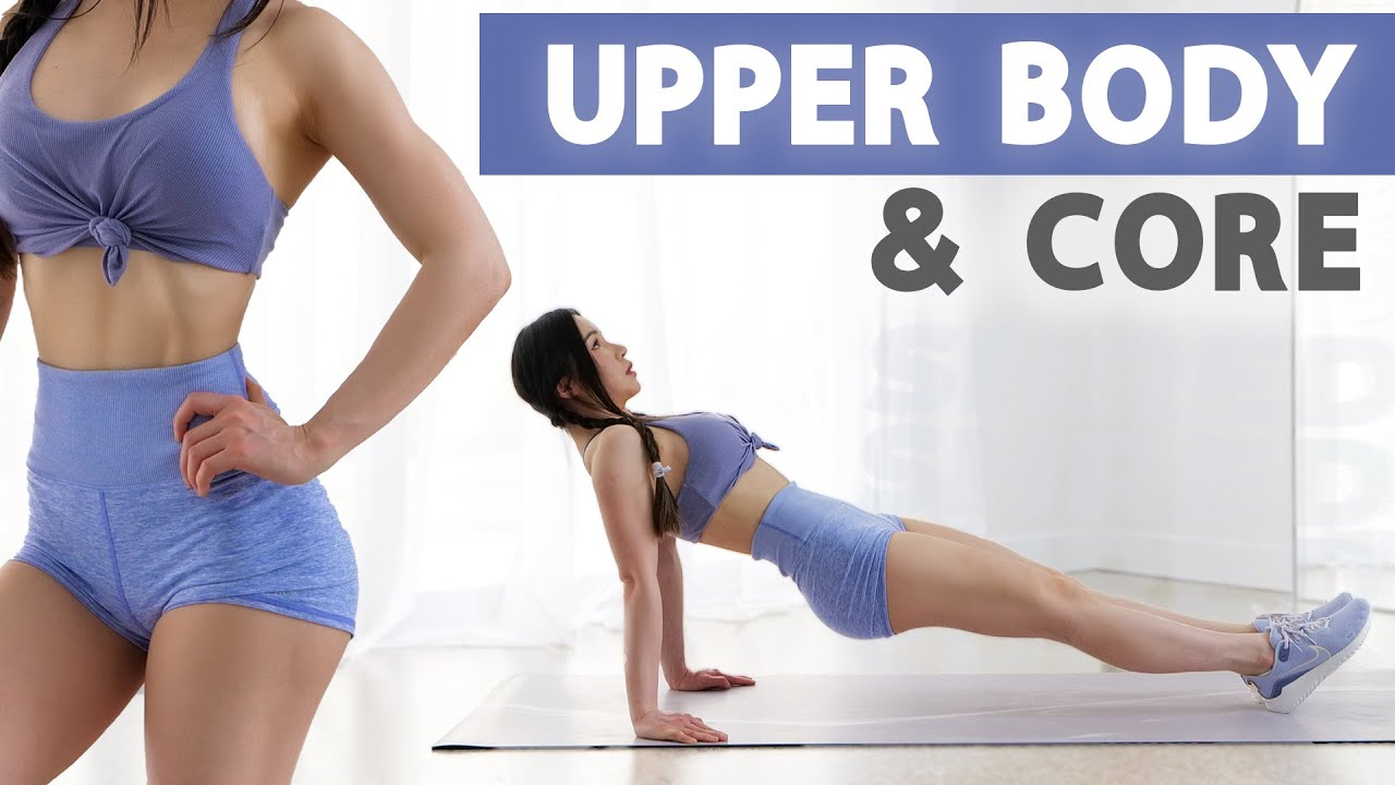 10 Min Upper Body & Core Workout | 2 Weeks Shred Challenge 2021