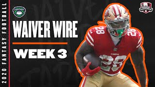 2020 Fantasy Football Rankings - Week 3 Top Waiver Wire Players To Target - Fantasy Football Advice