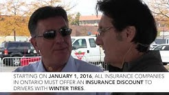 Winter Tires - Insurance Announcement