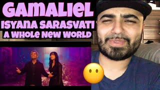 Gambar cover Reacting to Gamaliel and Isyana Sarasvati Cover of  A Whole New World