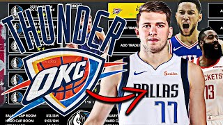 What If The OKC Thunder Traded All 17 Of Their First Round Draft Picks?