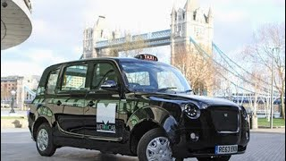 The new metrocab Levc Electric black cab Tx taxi review road test