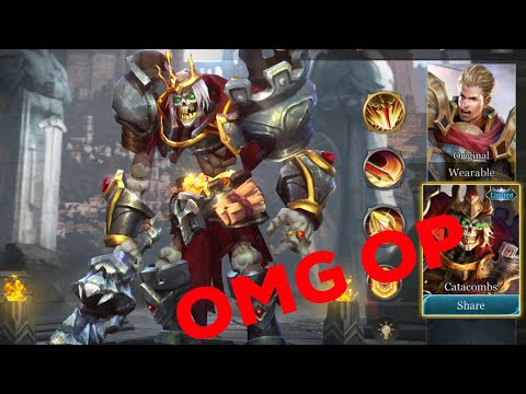 Arthur Catacombs Skin Omg Arena Of Valor Aov Gameplay