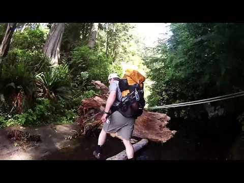 juan de fuca trail in 10min
