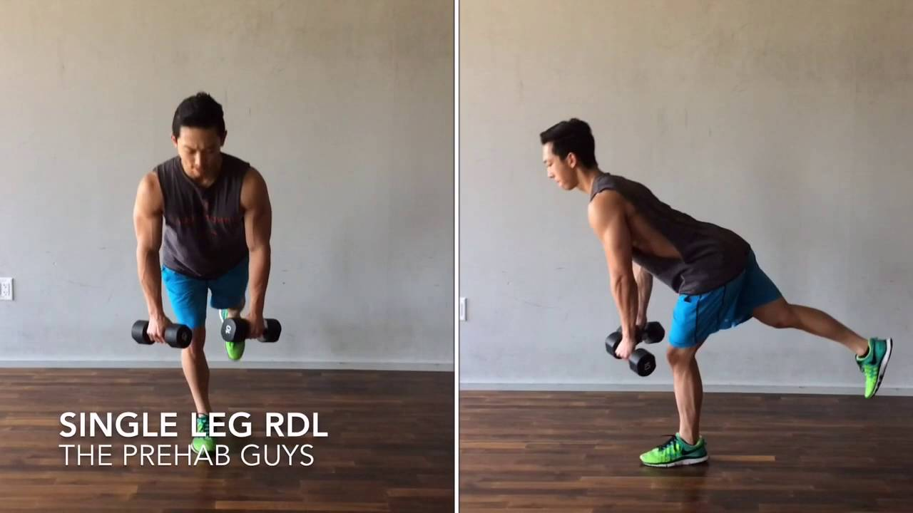 single leg rdl form  Single Leg RDL