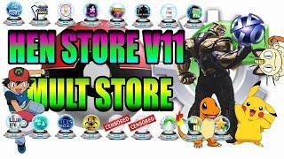 Hen store v11 on PS3 4.85.1 HFW, Han offline enabler nad Console ban prevention
