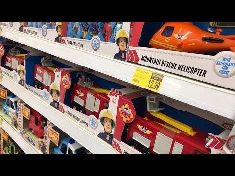 Fireman Sam 🚒 and Postman Pat latest toys in store 2019
