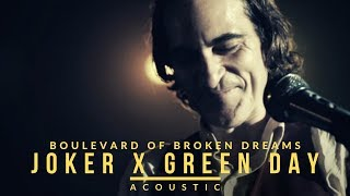 Download lagu Joker x Green Day - Boulevard Of Broken Dreams (Acoustic)