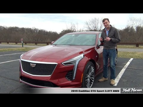 Review: 2019 Cadillac CT6 Sport 3.0TT AWD - Next-Level Luxury!