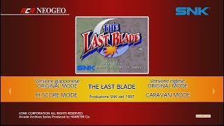 ACA NEOGEO The Last Blade (Switch) First Look on Nintendo Switch - Gameplay