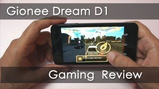 Gionee Dream D1 Gaming Review