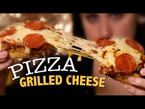 DIY Pizza Grilled Cheese