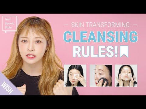 5 Cleansing Secrets! How to Cleanse Properly for Acne Skin & Remove Heavy Makeup | Teen Beauty Bible