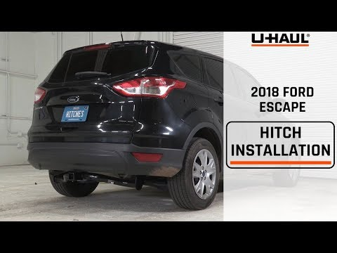 2018 Ford Escape Trailer Hitch Installation