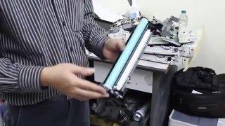 Hướng dẫn Vệ sinh và nạp mực Cartridge CF226A - Máy in HP M402d - Vietbis.vn