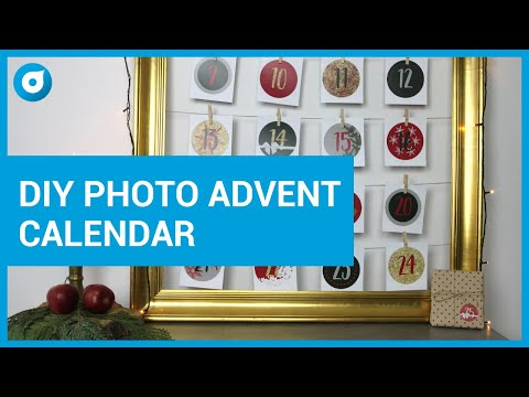 DIY - How To Make An Advent Calendar With Your Photos - Smartphoto One Minute Craft