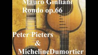 ジュリアーニ ロンドop 66  ピータース&デュモルティエ(テルツ・ギター使用)