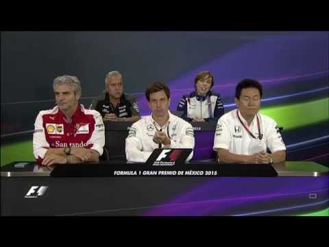 2015 Mexico - Friday Press Conference 1/3