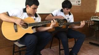 Popurri de rock en salón de clases