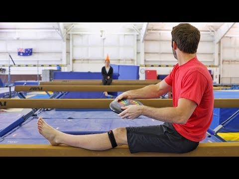 Gymnastics Trick Shots ft. Shawn Johnson | Brodie Smith