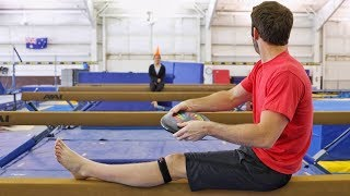 Gymnastics Trick Shots ft. Shawn Johnson | Brodie Smith