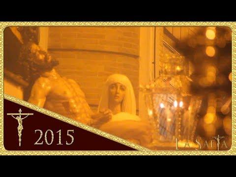 Stmo. Cristo de la Caridad en su traslado al Sepulcro - Hdad. de Santa Marta (Sevilla 2015)