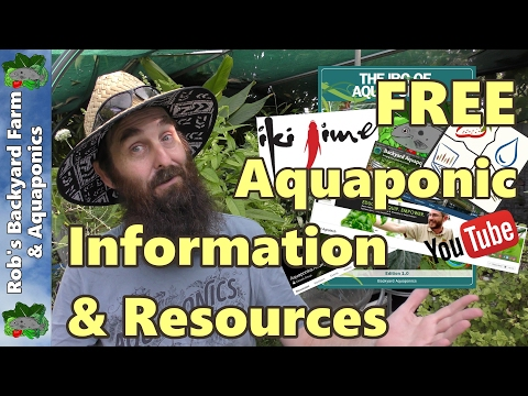 TOTALLY FREE Aquaponic Information & Resources – Great for Beginners
