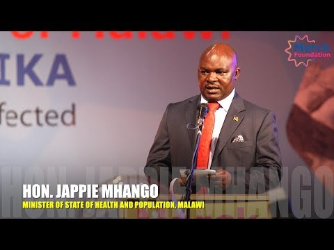 Malawi Minister Of Health Speech during Launch of Merck Foundation.