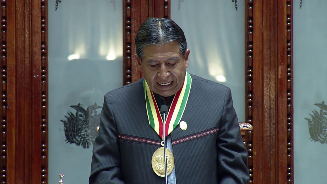 Discurso Vicepresidente David Choquehuanca