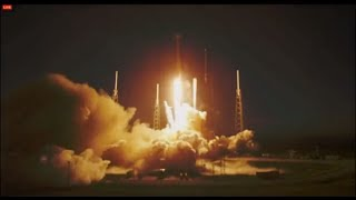 SpaceX third attempt at Falcon 9 rocket SES-8 communications satellite launch