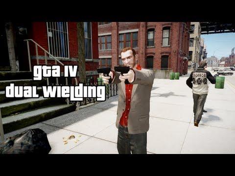 Dual Wielding Style - GTA IV Script Mod (HD)