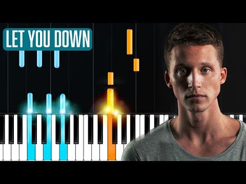 "NF - ""Let You Down"" Piano Tutorial - Chords - How To Play - Cover"