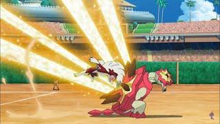 Kiawe vs Gladion Round 2 Pokemon Sun and Moon Episode 135 English Dub