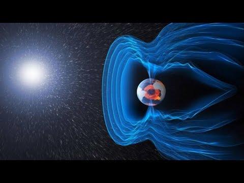 Как магнитное поле защищает землю