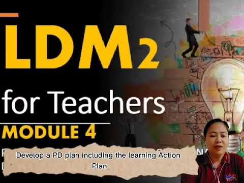 Download LDM 2 Module 4: Planning for Continuing Professional Development and LAC Planning
